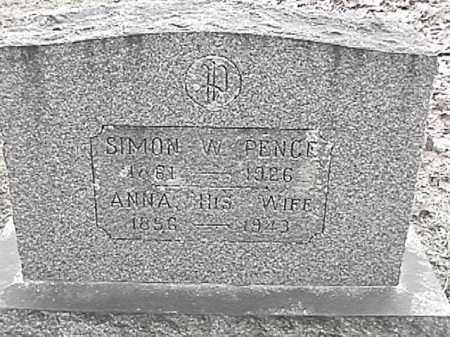 PENCE, ANNA - Champaign County, Ohio | ANNA PENCE - Ohio Gravestone Photos