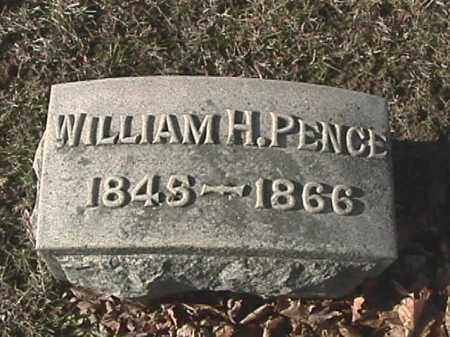 PENCE, WILLIAM H. - Champaign County, Ohio | WILLIAM H. PENCE - Ohio Gravestone Photos