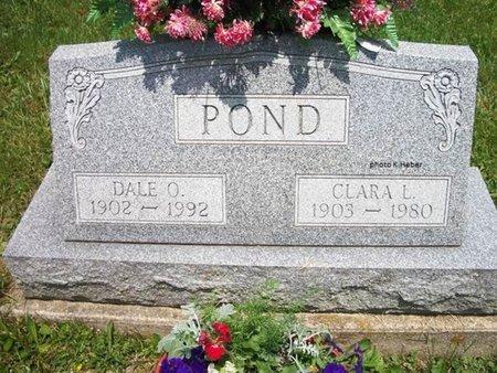 ABBOTT POND, CLARA LUCILLE - Champaign County, Ohio | CLARA LUCILLE ABBOTT POND - Ohio Gravestone Photos