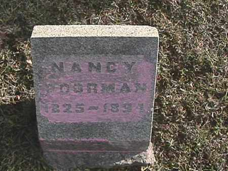 POORMAN, NANCY - Champaign County, Ohio | NANCY POORMAN - Ohio Gravestone Photos
