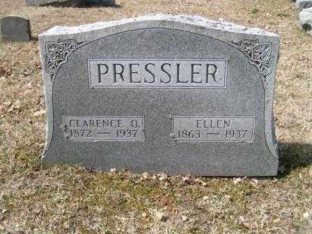 PRESSLER, CLARENCE O. - Champaign County, Ohio | CLARENCE O. PRESSLER - Ohio Gravestone Photos