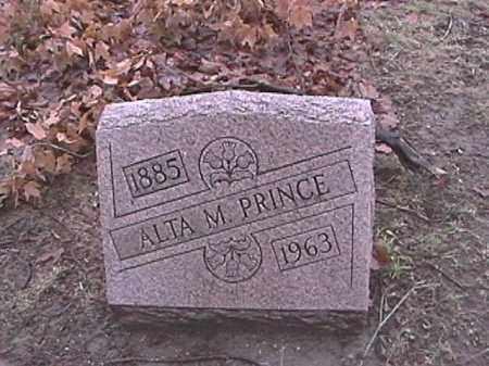 PRINCE, ALTA M. - Champaign County, Ohio | ALTA M. PRINCE - Ohio Gravestone Photos