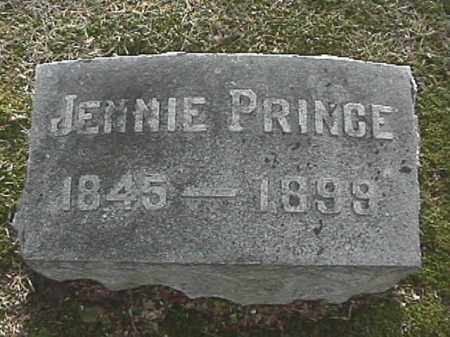 PRINCE, JENNIE - Champaign County, Ohio | JENNIE PRINCE - Ohio Gravestone Photos