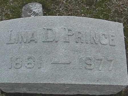 PRINCE, LINA D. - Champaign County, Ohio | LINA D. PRINCE - Ohio Gravestone Photos