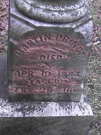 PRINCE, MARTIN - Champaign County, Ohio | MARTIN PRINCE - Ohio Gravestone Photos