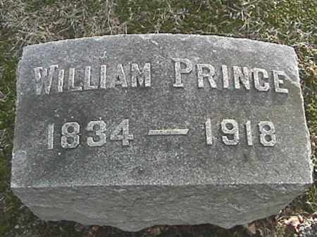 PRINCE, WILLIAM - Champaign County, Ohio | WILLIAM PRINCE - Ohio Gravestone Photos