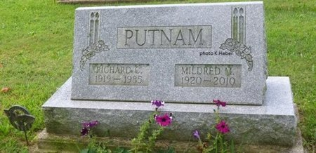 "BASEORE PUTNAM, MILDRED MAXINE ""MADDY"" - Champaign County, Ohio 