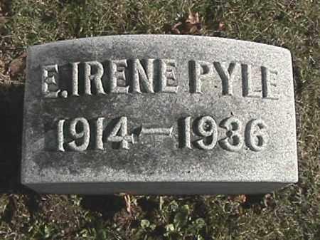PINKERTON PYLE, ELIZABETH IRENE - Champaign County, Ohio | ELIZABETH IRENE PINKERTON PYLE - Ohio Gravestone Photos