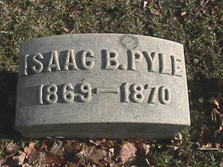 PYLE, ISAAC B. - Champaign County, Ohio | ISAAC B. PYLE - Ohio Gravestone Photos