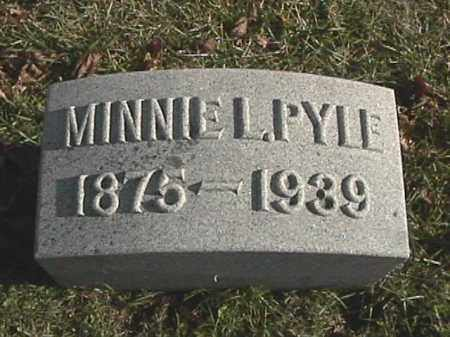 PYLE, MINNIE L. - Champaign County, Ohio | MINNIE L. PYLE - Ohio Gravestone Photos