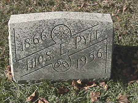 PYLE, THOMAS - Champaign County, Ohio | THOMAS PYLE - Ohio Gravestone Photos