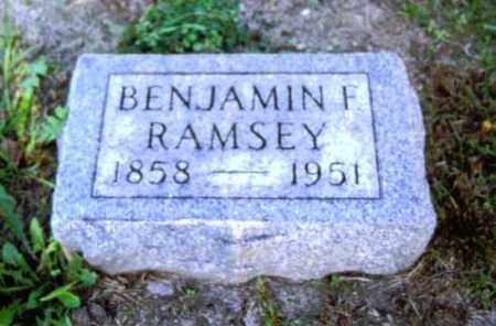 RAMSEY, BENJAMIN - Champaign County, Ohio | BENJAMIN RAMSEY - Ohio Gravestone Photos