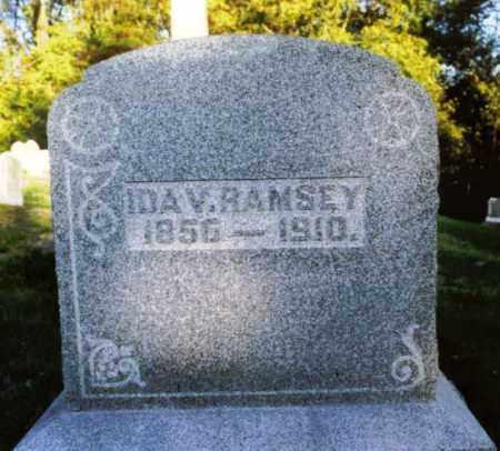 RAMSEY, IDA - Champaign County, Ohio | IDA RAMSEY - Ohio Gravestone Photos