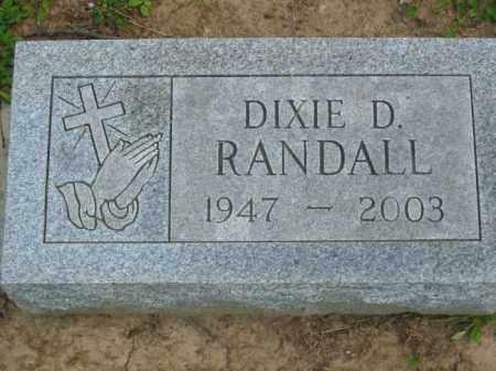 RANDALL, DIXXIE SHELINE - Champaign County, Ohio | DIXXIE SHELINE RANDALL - Ohio Gravestone Photos