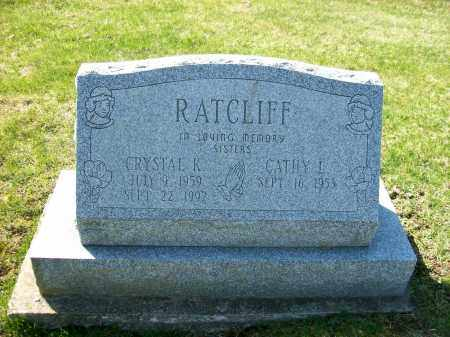 RATCLIFF, CRYSTAL K. - Champaign County, Ohio | CRYSTAL K. RATCLIFF - Ohio Gravestone Photos