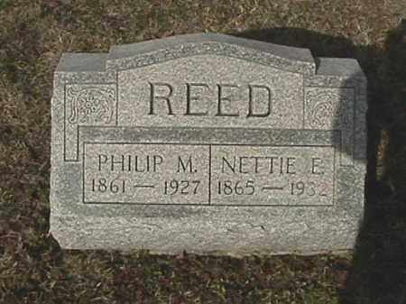 FRANK REED, NETTIE E. - Champaign County, Ohio | NETTIE E. FRANK REED - Ohio Gravestone Photos