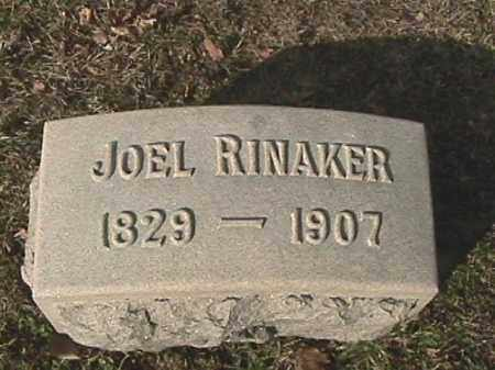 RINAKER, JOEL - Champaign County, Ohio | JOEL RINAKER - Ohio Gravestone Photos