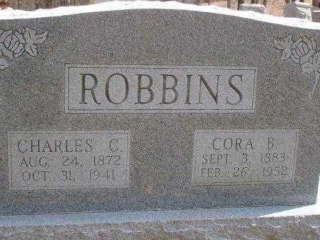ROBBINS, CORA B. OFFENBACKER - Champaign County, Ohio | CORA B. OFFENBACKER ROBBINS - Ohio Gravestone Photos