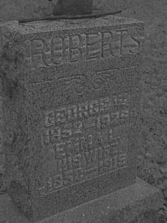 ROBERTS, EMMA L. IDLE - Champaign County, Ohio | EMMA L. IDLE ROBERTS - Ohio Gravestone Photos