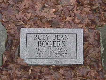 ROGERS, RUBY JEAN - Champaign County, Ohio | RUBY JEAN ROGERS - Ohio Gravestone Photos