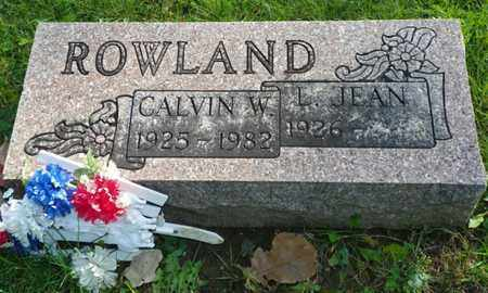 ROWLAND, LILLIAN JEAN - Champaign County, Ohio | LILLIAN JEAN ROWLAND - Ohio Gravestone Photos
