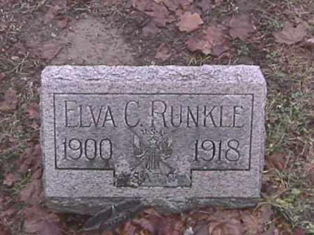 RUNKLE, ELVA C. - Champaign County, Ohio | ELVA C. RUNKLE - Ohio Gravestone Photos