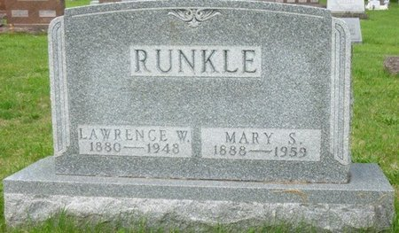 JENKINS RUNKLE, MARY SELMA - Champaign County, Ohio | MARY SELMA JENKINS RUNKLE - Ohio Gravestone Photos