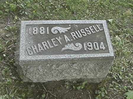 RUSSELL, CHARLEY A. - Champaign County, Ohio | CHARLEY A. RUSSELL - Ohio Gravestone Photos