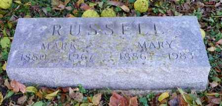 RUSSELL, MARK - Champaign County, Ohio | MARK RUSSELL - Ohio Gravestone Photos