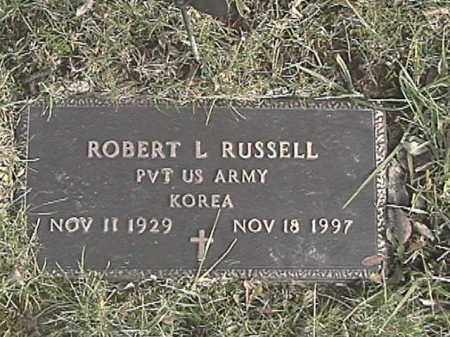 RUSSELL, ROBERT L. - Champaign County, Ohio | ROBERT L. RUSSELL - Ohio Gravestone Photos