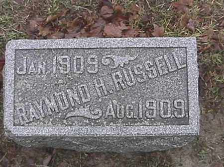RUSSELL, RAYMOND HERALD - Champaign County, Ohio | RAYMOND HERALD RUSSELL - Ohio Gravestone Photos