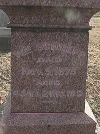 SCHNEPP, WILLIAM - Champaign County, Ohio | WILLIAM SCHNEPP - Ohio Gravestone Photos