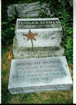 SEAMAM, ELISHA B - Champaign County, Ohio | ELISHA B SEAMAM - Ohio Gravestone Photos