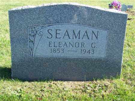 SEAMAN, ELEANOR G. - Champaign County, Ohio | ELEANOR G. SEAMAN - Ohio Gravestone Photos