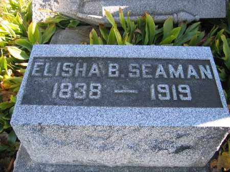 SEAMAN, ELISHA B. - Champaign County, Ohio | ELISHA B. SEAMAN - Ohio Gravestone Photos
