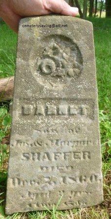 SHAFFER, BARNET - Champaign County, Ohio | BARNET SHAFFER - Ohio Gravestone Photos
