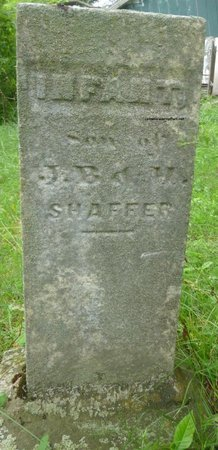 SHAFFER, INFANT SON - Champaign County, Ohio | INFANT SON SHAFFER - Ohio Gravestone Photos
