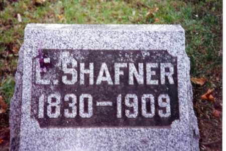 SHAFNER, ELIZABETH - Champaign County, Ohio | ELIZABETH SHAFNER - Ohio Gravestone Photos