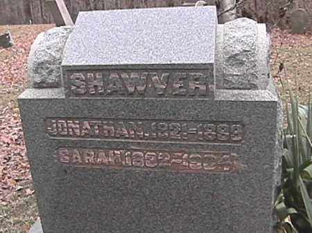 SHAWVER, JONATHAN - Champaign County, Ohio | JONATHAN SHAWVER - Ohio Gravestone Photos