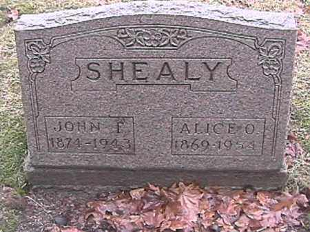 SHEALY, JOHN FREDERICK - Champaign County, Ohio | JOHN FREDERICK SHEALY - Ohio Gravestone Photos