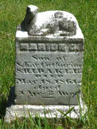 SHIDAKER, MARION O. - Champaign County, Ohio | MARION O. SHIDAKER - Ohio Gravestone Photos