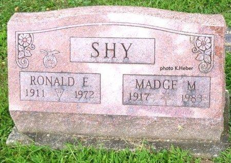 BARE SHY, MADGE M - Champaign County, Ohio   MADGE M BARE SHY - Ohio Gravestone Photos