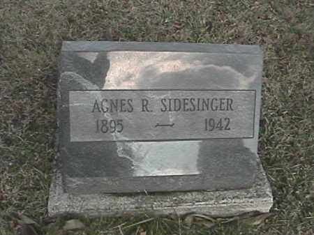 STRAYER SIDESINGER, AGNES R. - Champaign County, Ohio | AGNES R. STRAYER SIDESINGER - Ohio Gravestone Photos