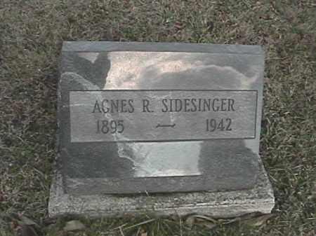 SIDESINGER, AGNES R. - Champaign County, Ohio | AGNES R. SIDESINGER - Ohio Gravestone Photos