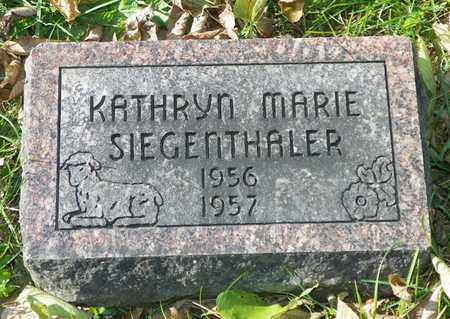 SIEGENTHALER, KATHRYN MARIE - Champaign County, Ohio | KATHRYN MARIE SIEGENTHALER - Ohio Gravestone Photos