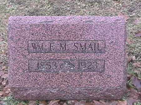 SMAIL, WILLIAM F.M. - Champaign County, Ohio | WILLIAM F.M. SMAIL - Ohio Gravestone Photos