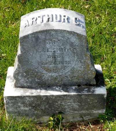SMITH, ARTHUR C. - Champaign County, Ohio | ARTHUR C. SMITH - Ohio Gravestone Photos