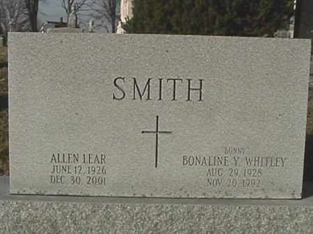 SMITH, ALLEN LEAR - Champaign County, Ohio | ALLEN LEAR SMITH - Ohio Gravestone Photos