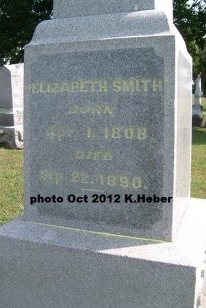 BANKS SMITH, ELIZABETH - Champaign County, Ohio   ELIZABETH BANKS SMITH - Ohio Gravestone Photos