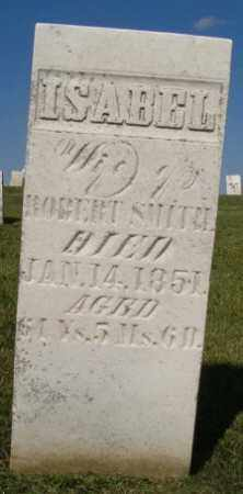 SMITH, ISABELL - Champaign County, Ohio | ISABELL SMITH - Ohio Gravestone Photos